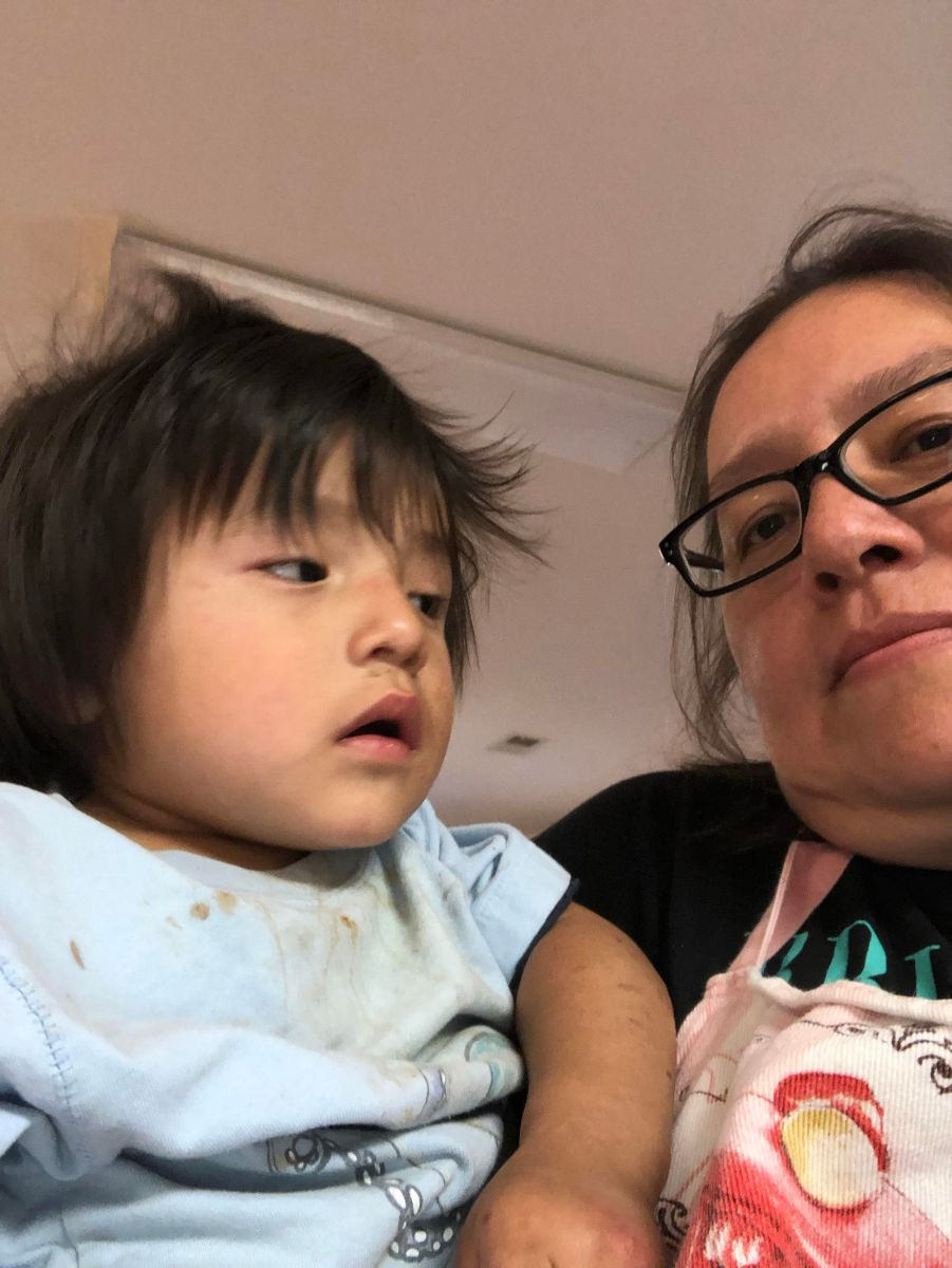 Jennifer und Kind